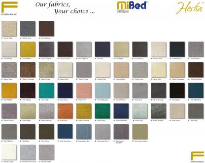 Mibed swatch