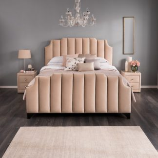 Deco Upholstered Bedframe - Scootabout UK